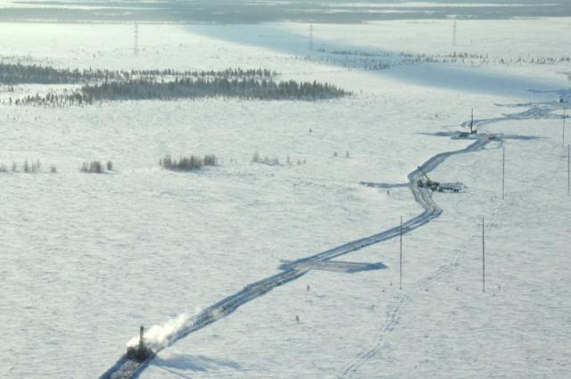 С 15 января на ледовой переправе «Салехард-Лабытнанги» повышен тоннаж
