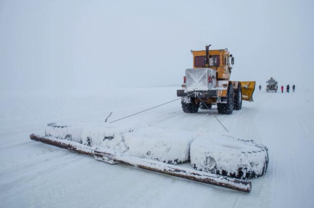 На Ямале готовятся к открытию зимника «Салемал – Панаевск – Яр-Сале»