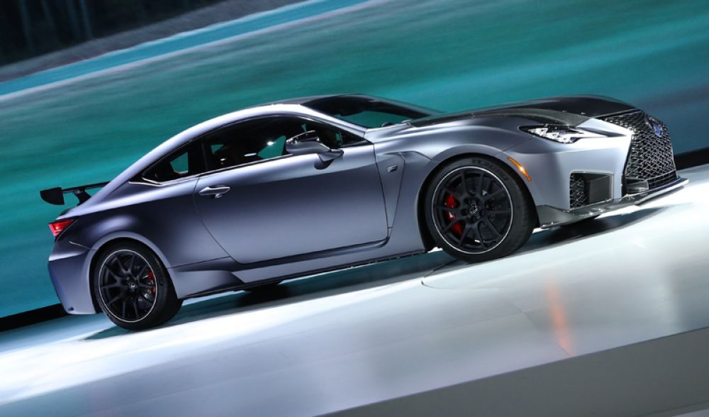 Lexus RCF Track Edition.