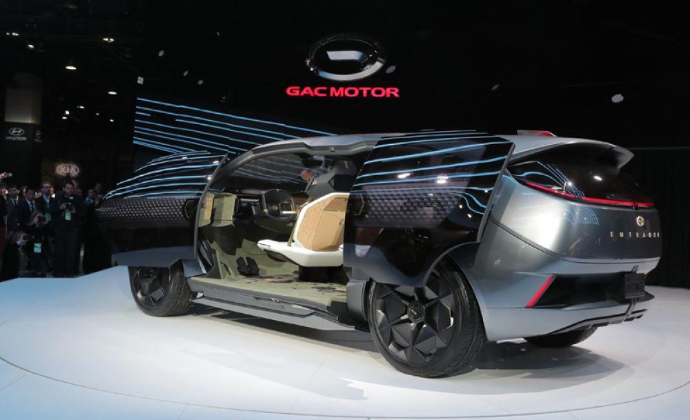 Концепт минивэна от GAC Motor.