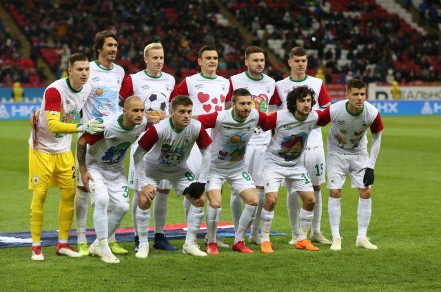 ФК «Рубин» ушел на перерыв в числе лидеров чемпионата.