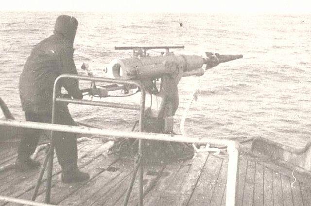 Так охотились на чудо-юдо рыбу кит советские китобои.
