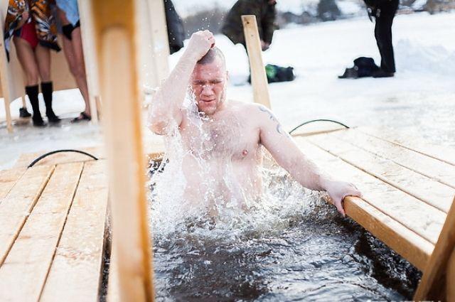 Крещенские купания.