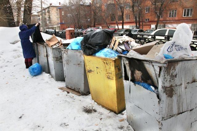 В некоторых городах области фирмы, занимающиеся перевозкой мусора, ушли с рынка и забрали контейнеры с собой.