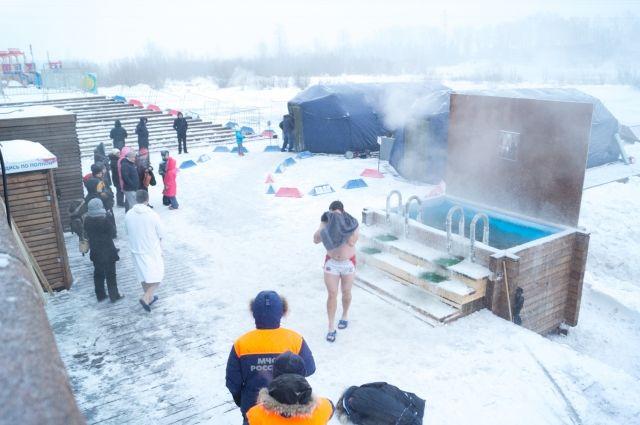 В Тюмени на Крещение будет идти снег