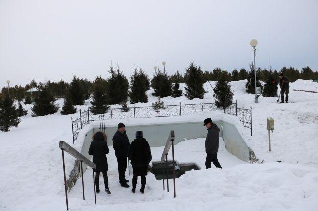 В Прокопьевске крещенскую купель оборудуют на пруду Зенковского парка.