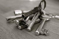 Ключи выдают только от квартир в новостройках.