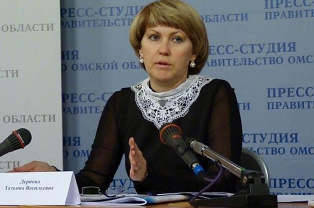 Министр образования Омской области Дернова осталась без заместителя