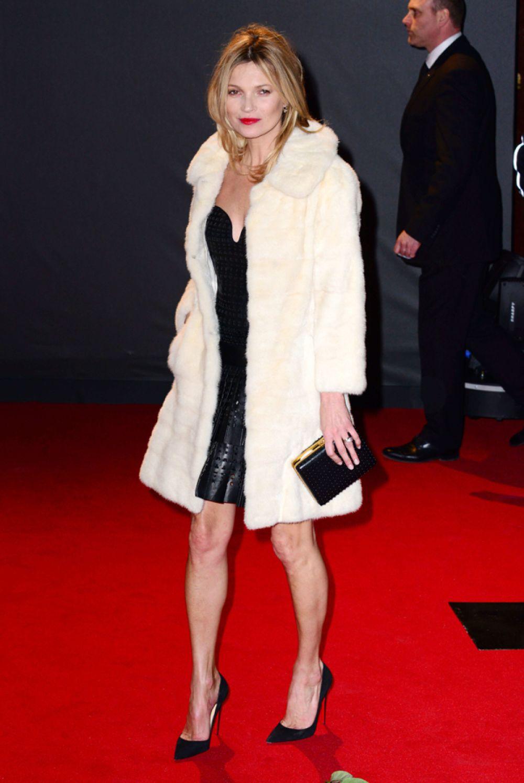 Кейт Мосс на British Fashion Awards в Лондоне, 2013 год.