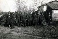 Венгерские солдаты на советской территории.