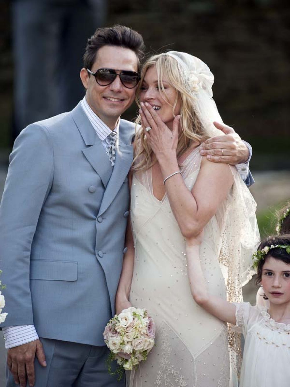 Свадьба Кейт Мосс и и Джейми Хинса в Лондоне. 2011 год.