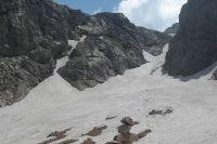 Малый ледник горы Фишт.