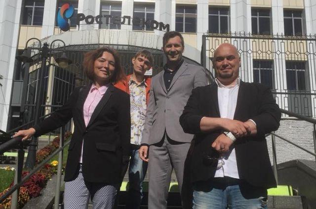 Победители конкурса «Вместе в цифровое будущее» в 2018 году.