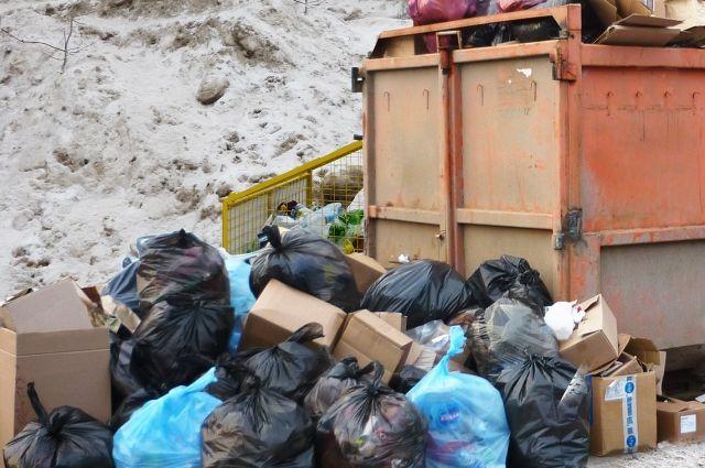 Женщина несла в свою квартиру всё, что находила у мусорных контейнеров.