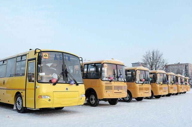 Школам Хабаровского края выделили 18 автобусов.