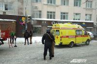 Пожар произошёл в центре Перми 17 января.