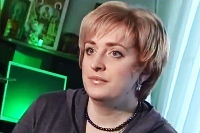 Оксана Гарнаева.