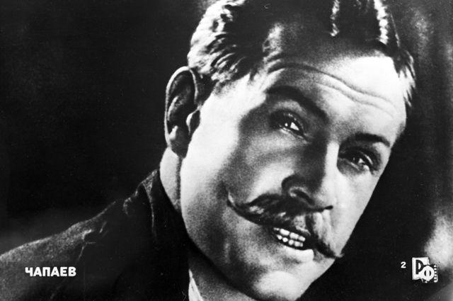 Борис Бабочкин в роли Василия Чапаева. 1934 год.