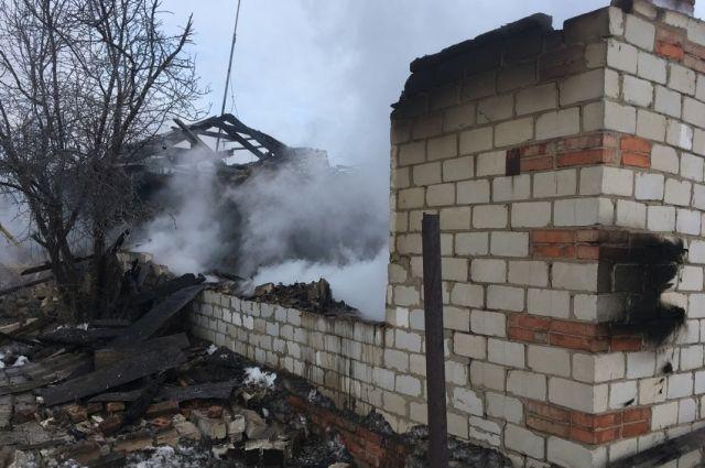 СК: подробности пожара в смертельного пожара в Новоорском районе
