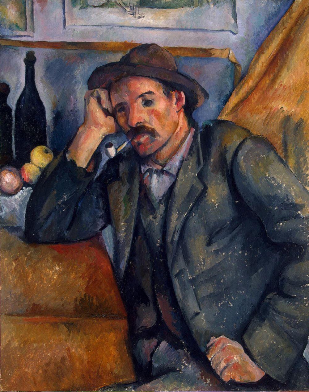 «Мужчина с трубкой», 1890.