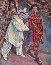 «Пьеро и Арлекин» («Масленица»), 1888.