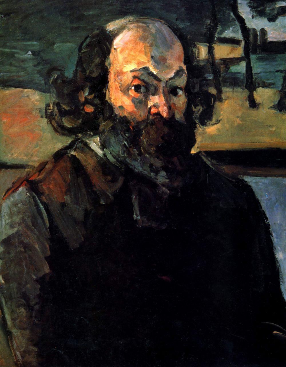Автопортрет, 1875.
