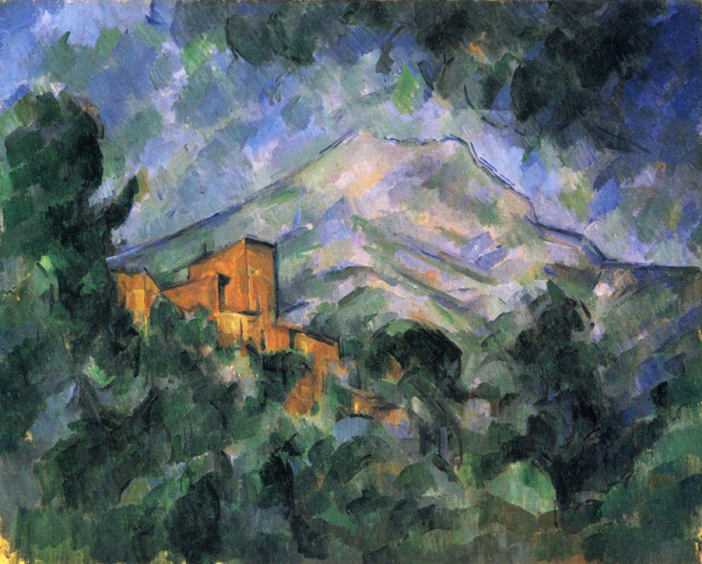 «Гора Сент-Виктуар и Чёрный замок», 1904-1906.