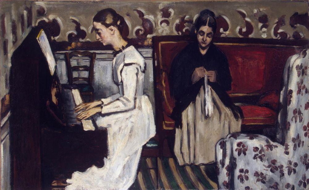 «Девушка у пианино» (Увертюра к «Тангейзеру»), ок. 1868.