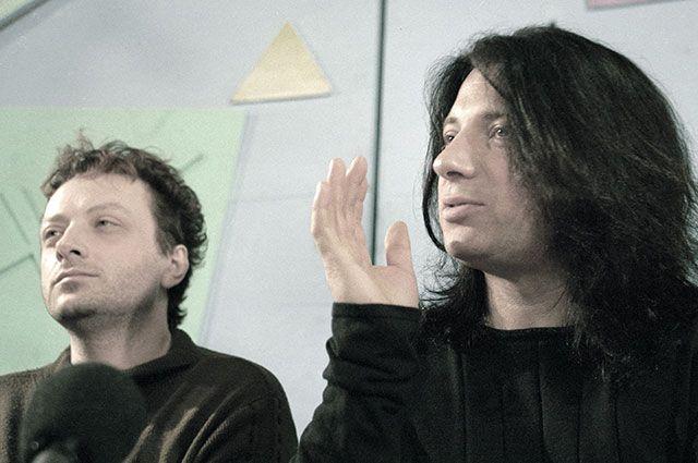 Участники популярной рок-группы «Агата Кристи» Глеб (слева) и Вадим Самойловы.