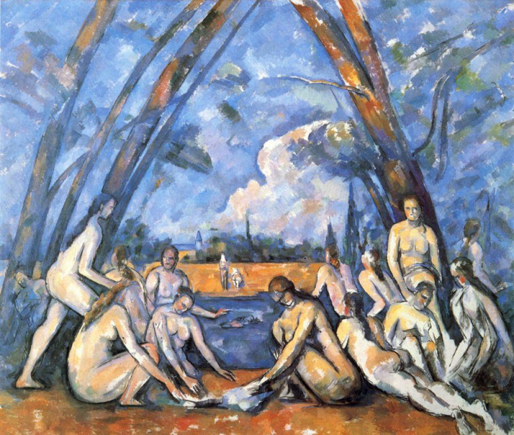 «Купальщицы», 1906.