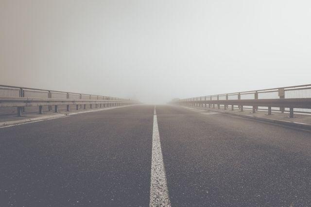 На Оренбуржье опускается туман