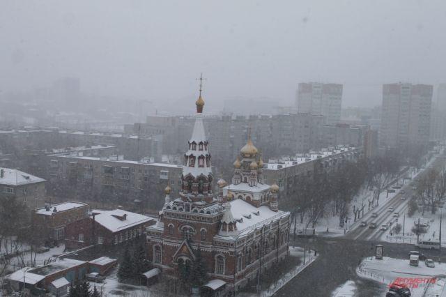 В Перми пройдут метели.