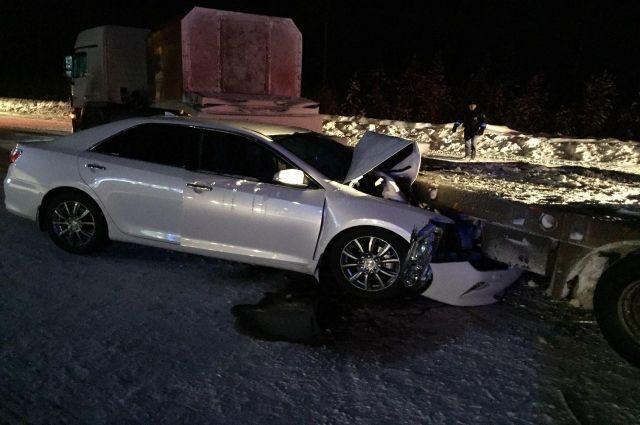 Водитель Toyota пострадал в ДТП возле Губкинского