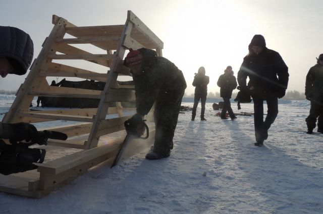 В Омской области для верующих открыли ещё два места для купания