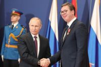Владимир Путин и Александр Вучич.