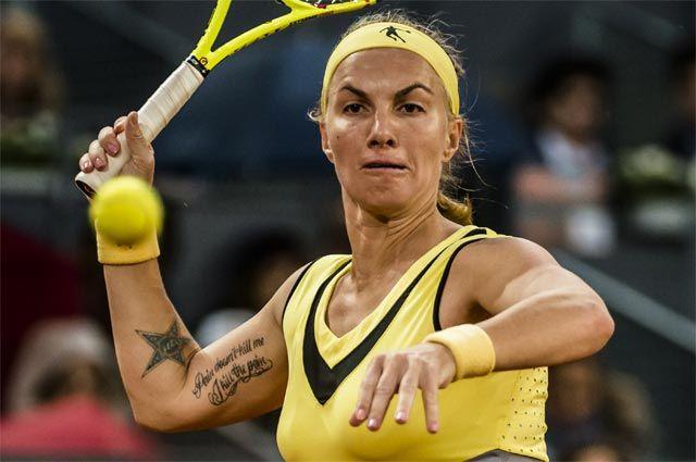 Теннисистка Светлана Кузнецова.
