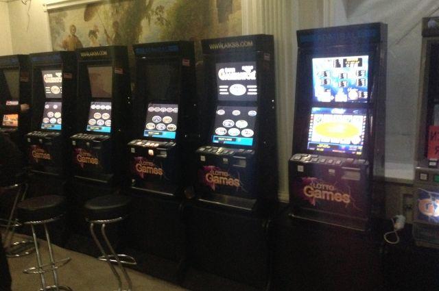 криминал и игровые автоматы
