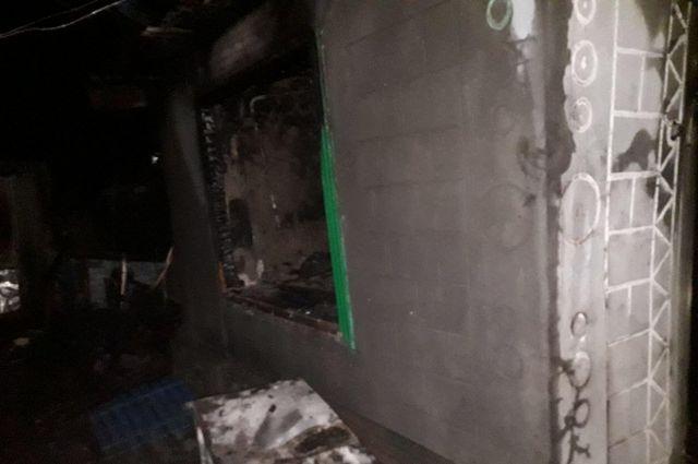Под Запорожьем в доме заживо сгорели мужчина и дети: мать совершила суицид