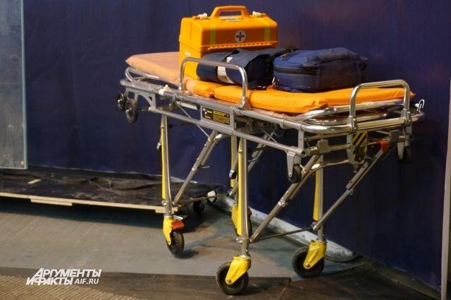 Двух тяжелобольных людей эвакуировала санавиация из села Троицкое.