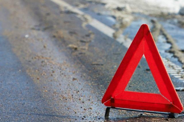 В ДТП под Медногорском пострадал водитель