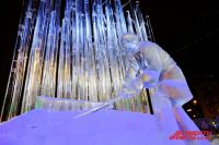 Работы скульпторов можно увидеть в ледовом городке «Ветер с Востока» с 20 января