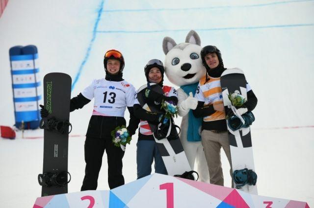 Красноярец стал победителем в дисциплине сноуборд - кросс.