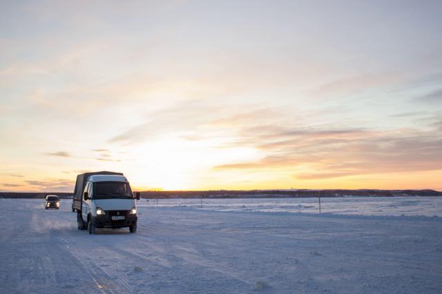 Зимник «Уренгой – Красноселькуп» открыт для транспортных средств