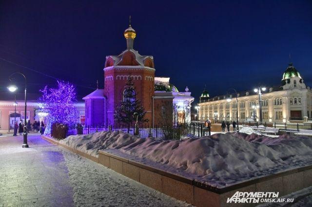 Любинский проспект после реконструкции стал одним из красивейших мест областного центра.