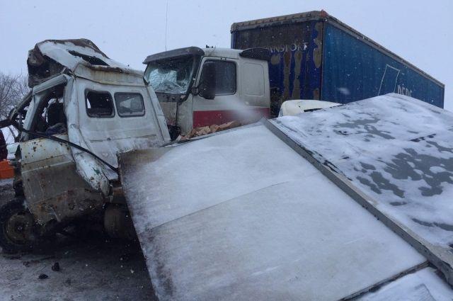 Авария произошла 21 января в 11.40.