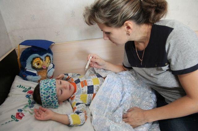 Чаще всего гриппом и ОРВИ болеют дети в возрасте до двух лет.