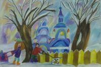 Рисунок Трофимовой Арины, семь лет