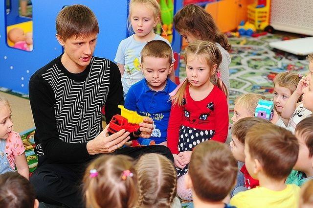 Педагог-психолог детского сада № 91 Андрей Панькин считает, главное в жизни ребёнка  - безусловная любовь родных и близких
