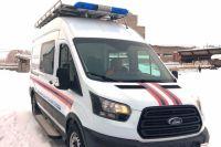 Автомобиль прибыл из Нижнего Новгорода, где его переоборудовали согласно требованиям к спецавтомобилям.