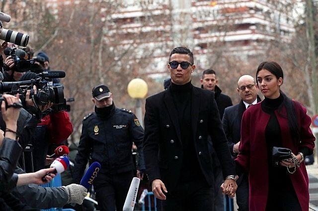 Роналду приговорен к штрафу по делу о мошенничестве с налогами в Испании